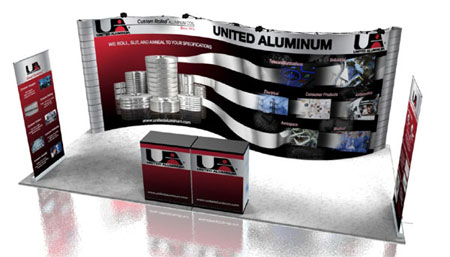 Visit United Aluminum at the next trade show.