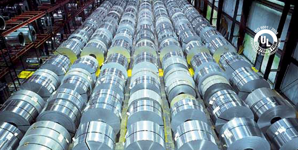 United Aluminum\'s reroll Inventory with wide variety of alloys.