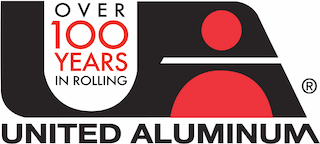 United Aluminum logo | Your trusted supplier of Custom Rolled Aluminum Coil since 1915